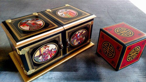 Oriental Peek Die Box