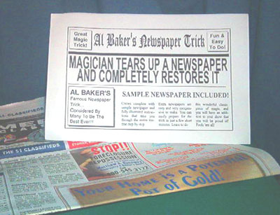 Baker Newspaper