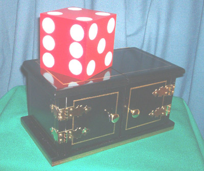 black Die Box