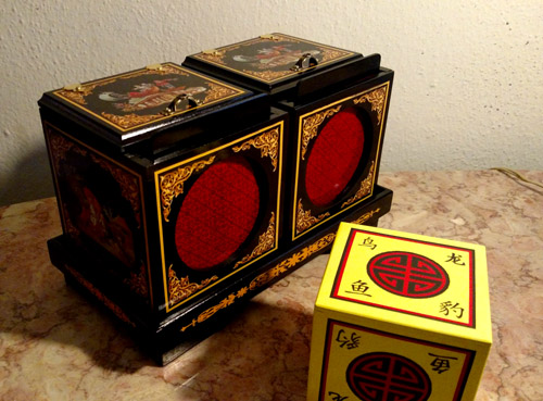 Oriental Twin Die Box