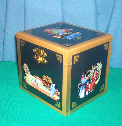 Oriental Watch Box
